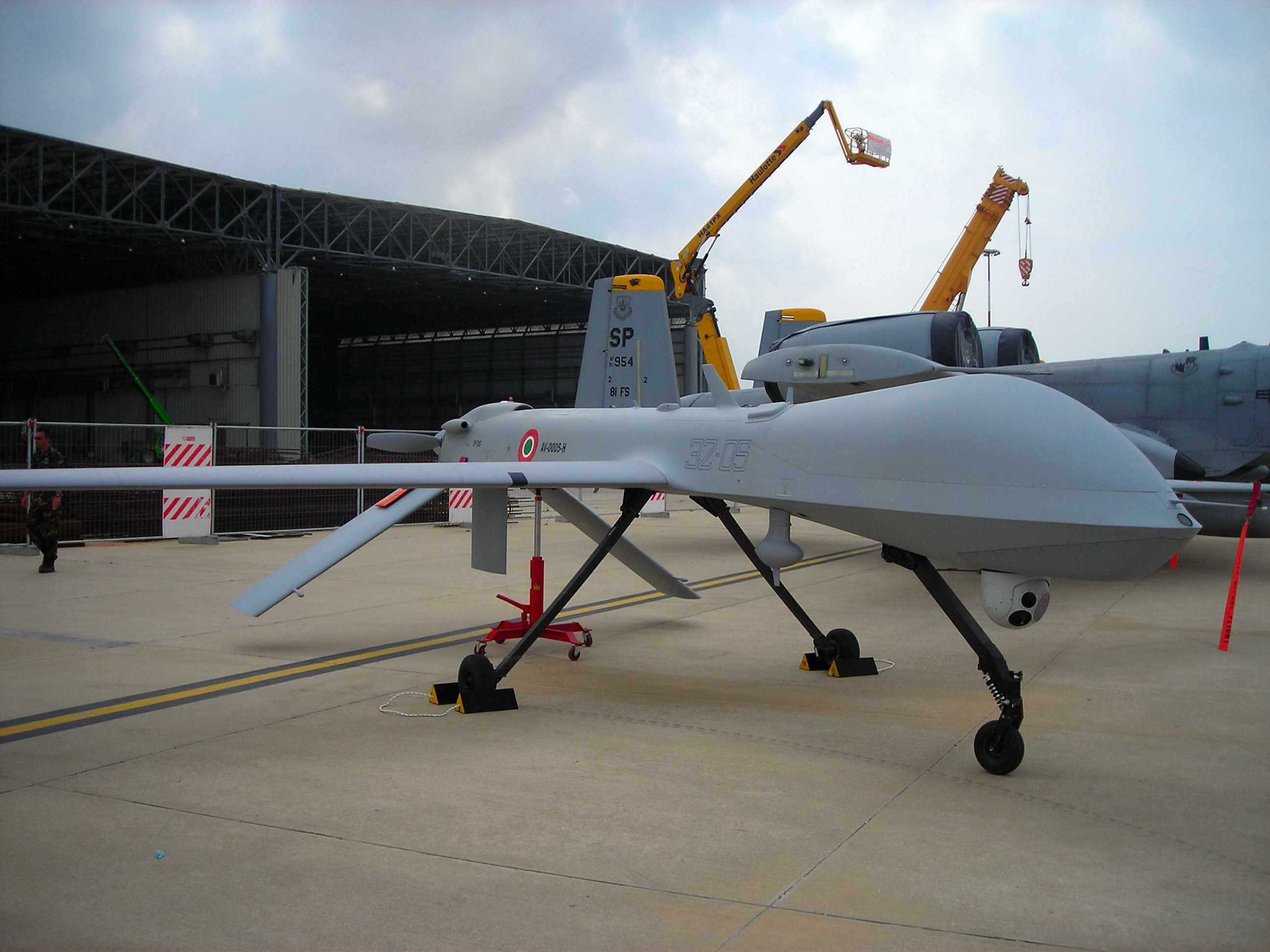 RQ 1 Predator Of The Italian Air Force