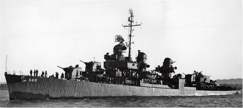 USS Aulick (DD-569), 24 Feb 1945, off Mare Island