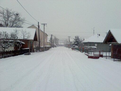 File:Ulica Živojina Mišića u Batočini prekrivena snegom.jpg