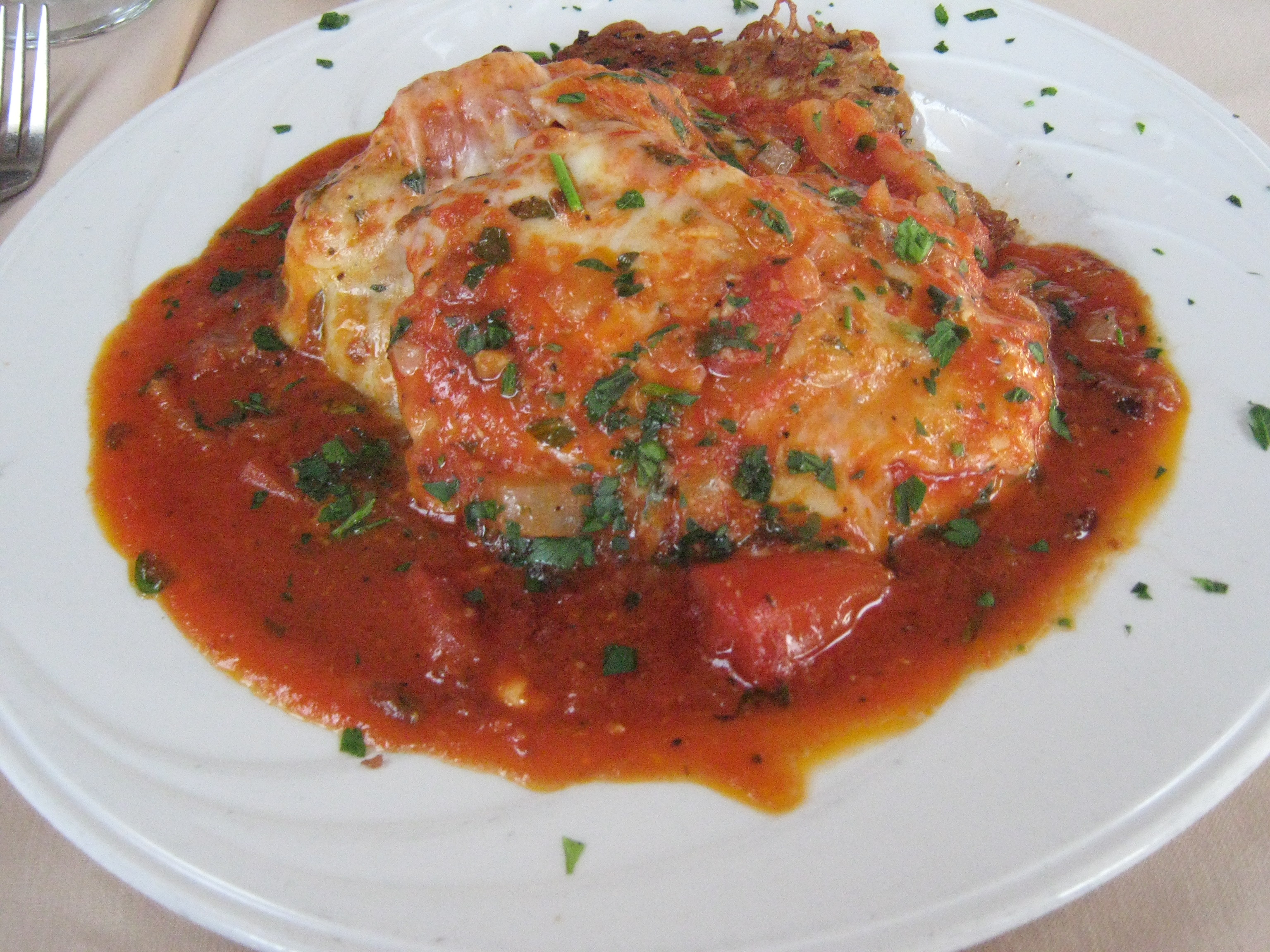 Chicken Parmigiana Wikipedia