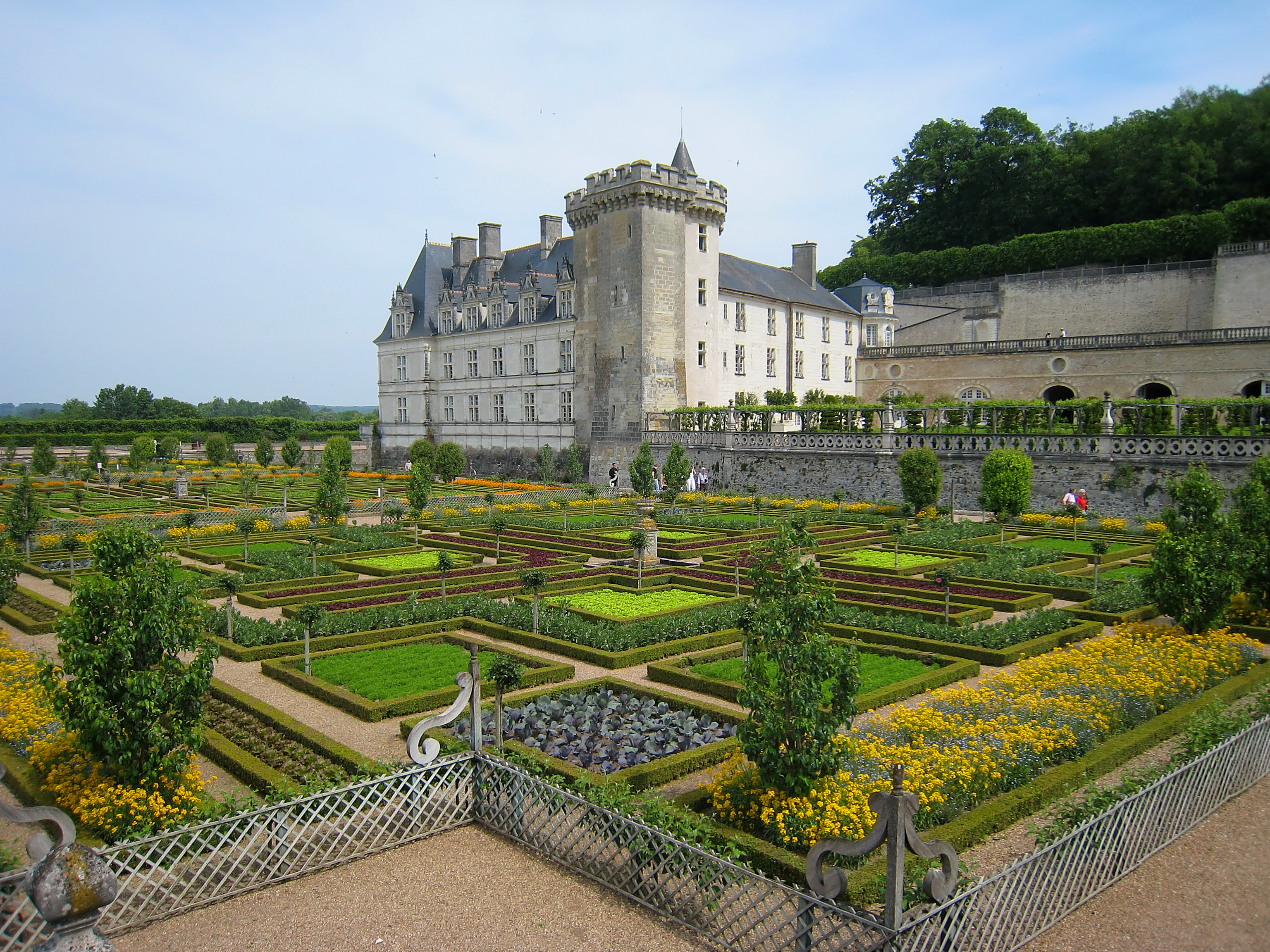 Ornamental Kitchen Garden Garden Of Love At Chacteau De Villandry Most Romantic Gardens In