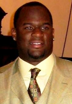 American football player Vince Young. Cropped ...