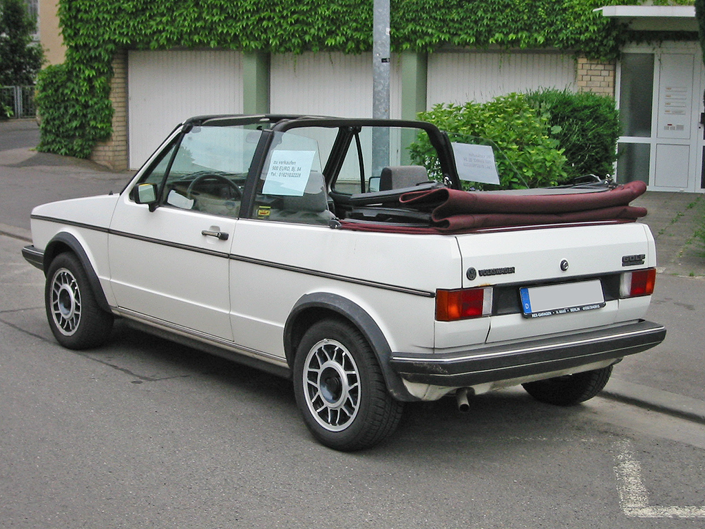 Golf Mark 4 Mark 1 Golf Cabriolet
