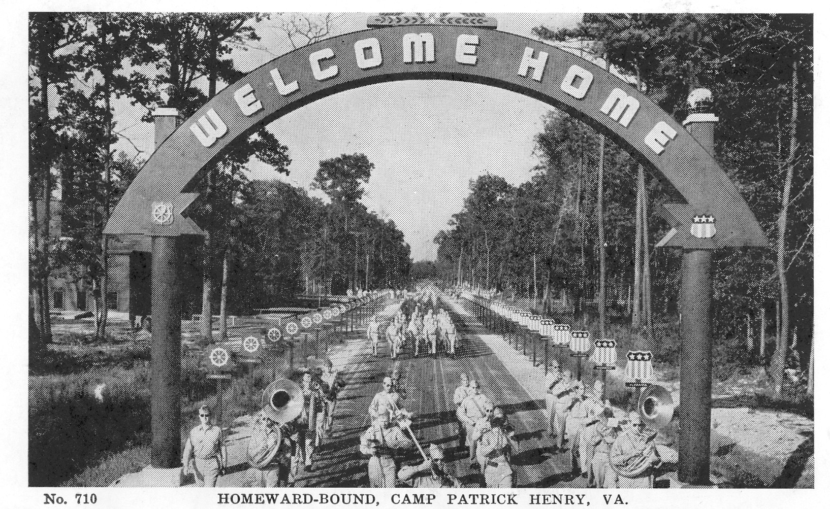 Welcome Home, Camp Patrick Henry, VA