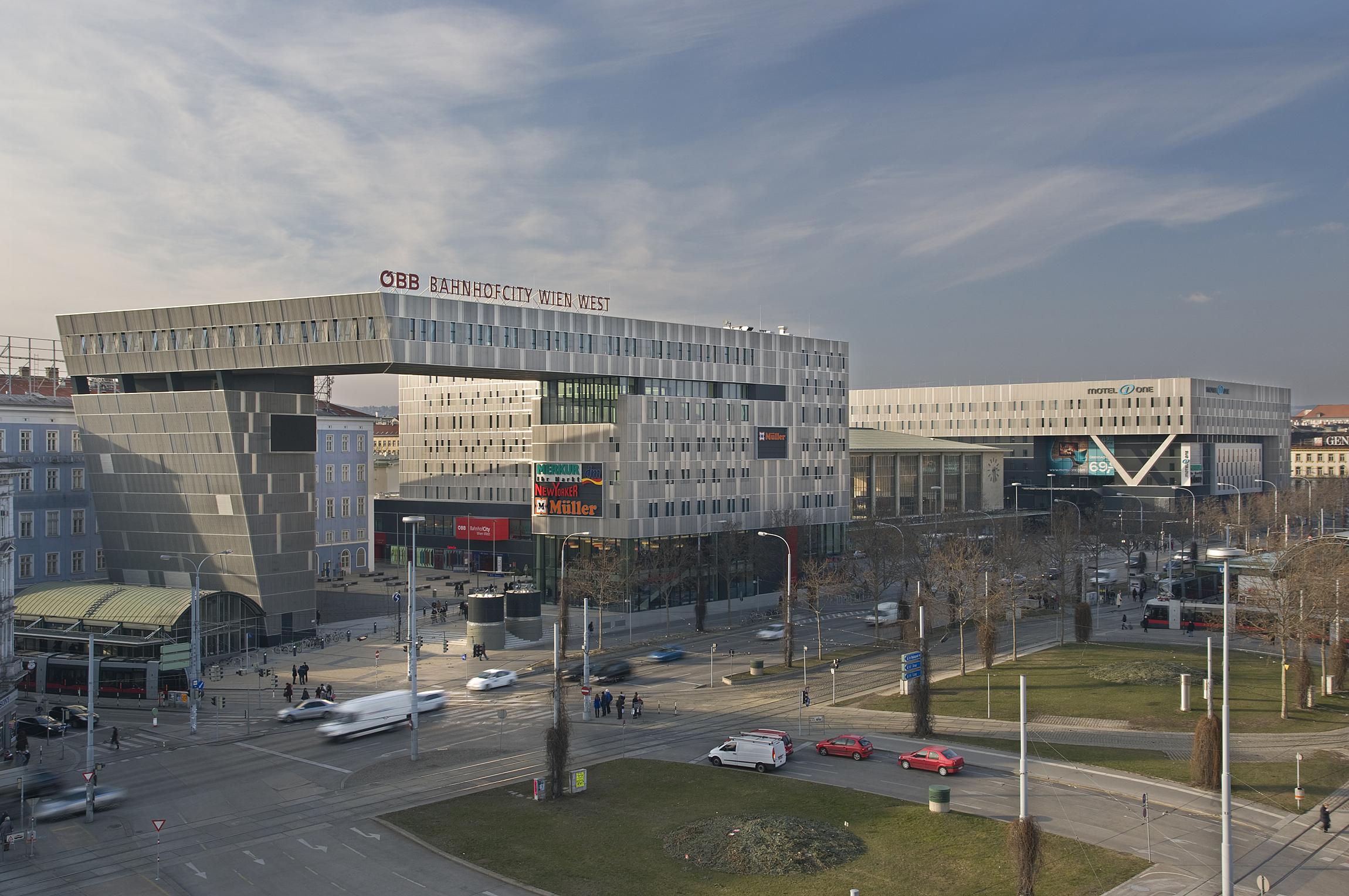 Wien Westbahnhof Reiseführer Auf Wikivoyage