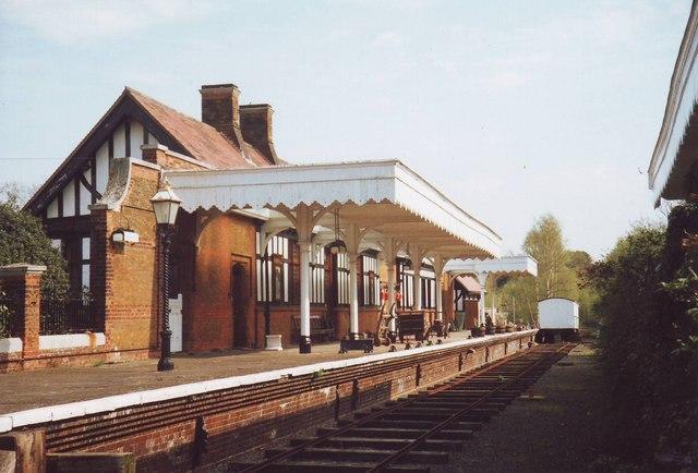 Wolferton Railway Station (disused), Norfolk - geograph.org.uk - 1554633