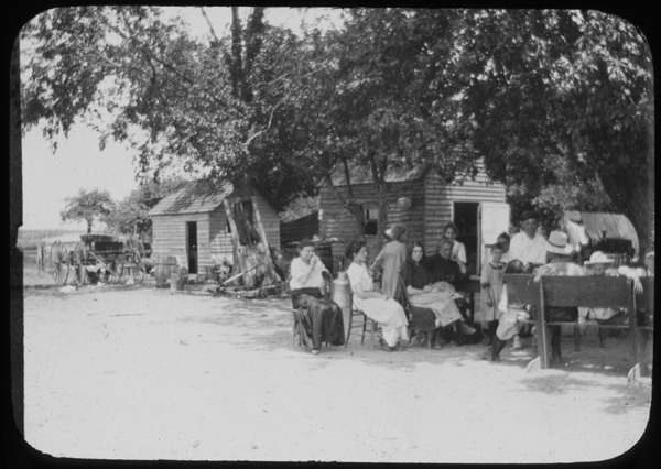 File:Women, children and houses, South Jersey Colonies (4325913146).jpg