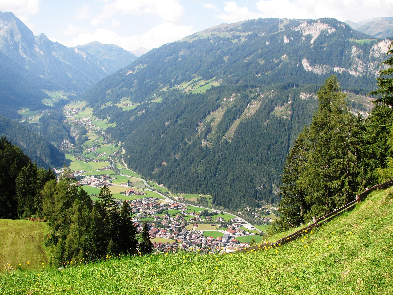 Zillertal Berge