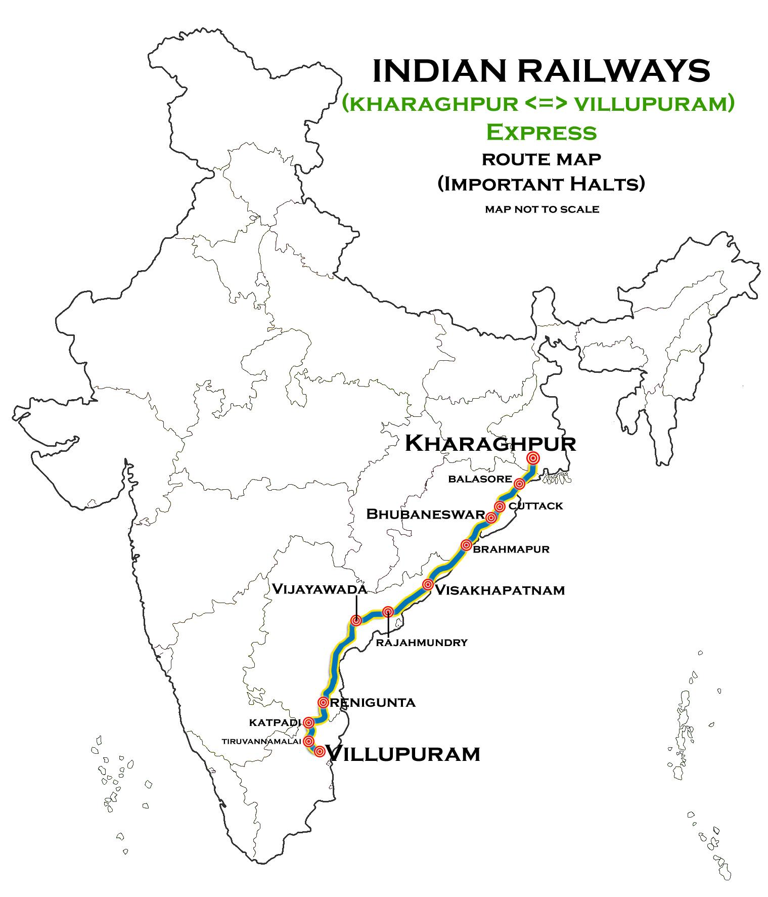 Kharagpur - Villupuram Superfast Express - Wikipedia