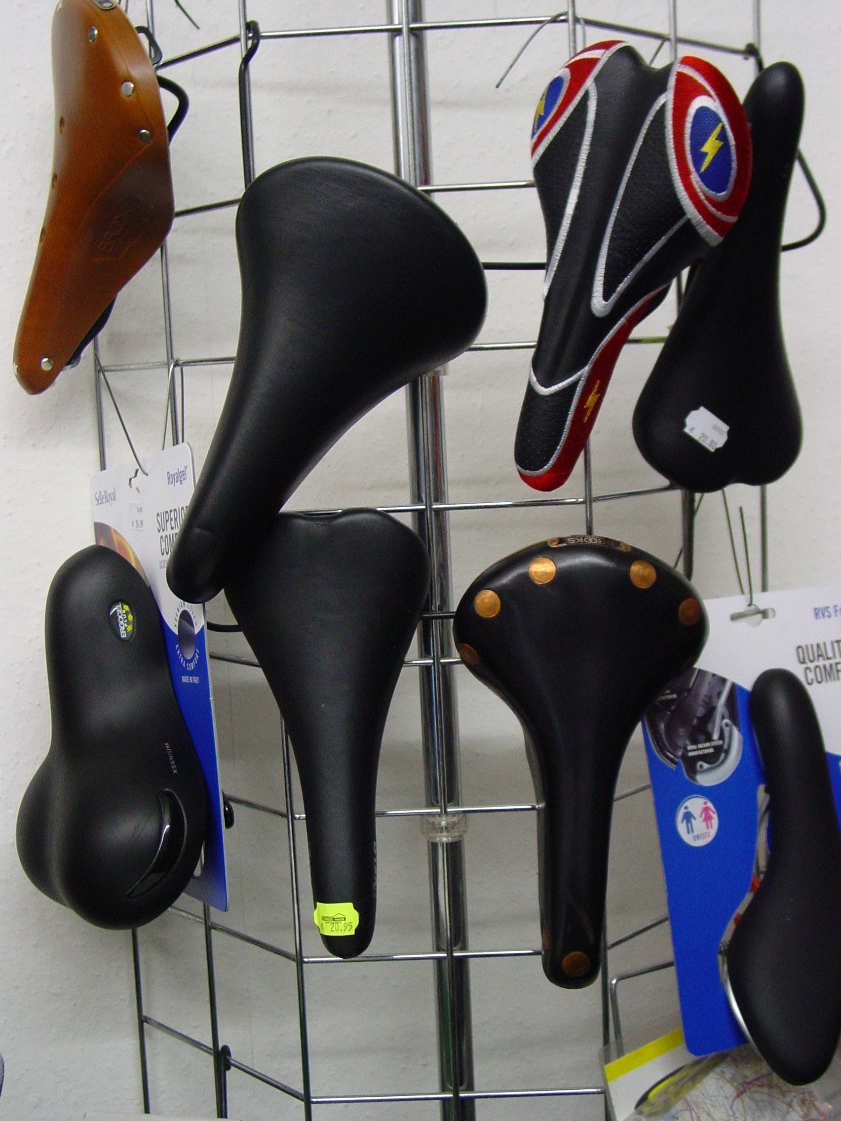 Bicycle saddle - Wikipedia