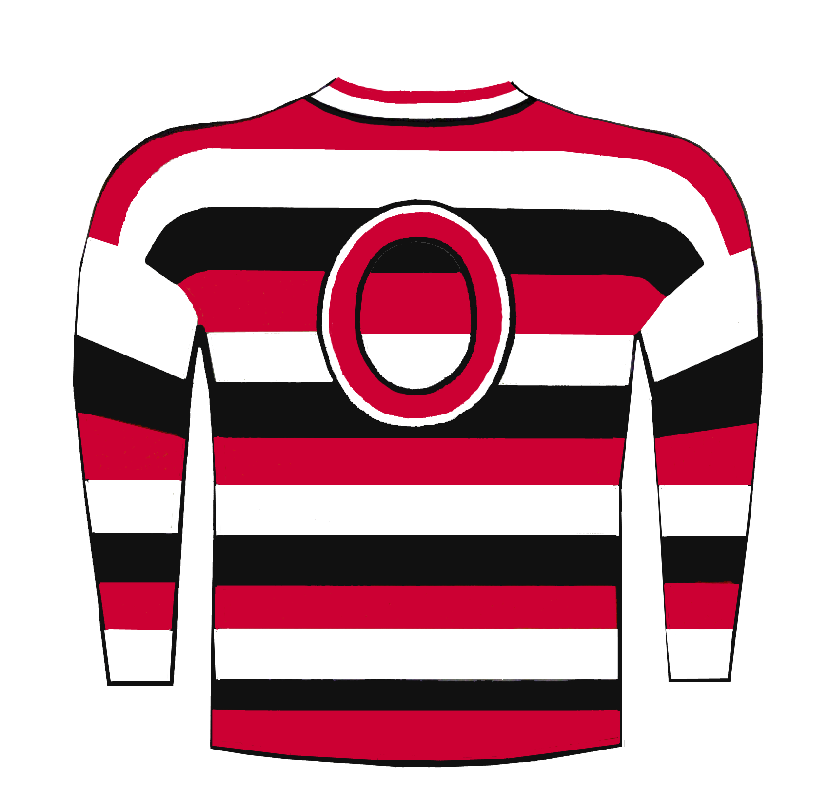 the best attitude a9c1f f8e83 File:1933 Ottawa Senators jersey.png - Wikimedia Commons