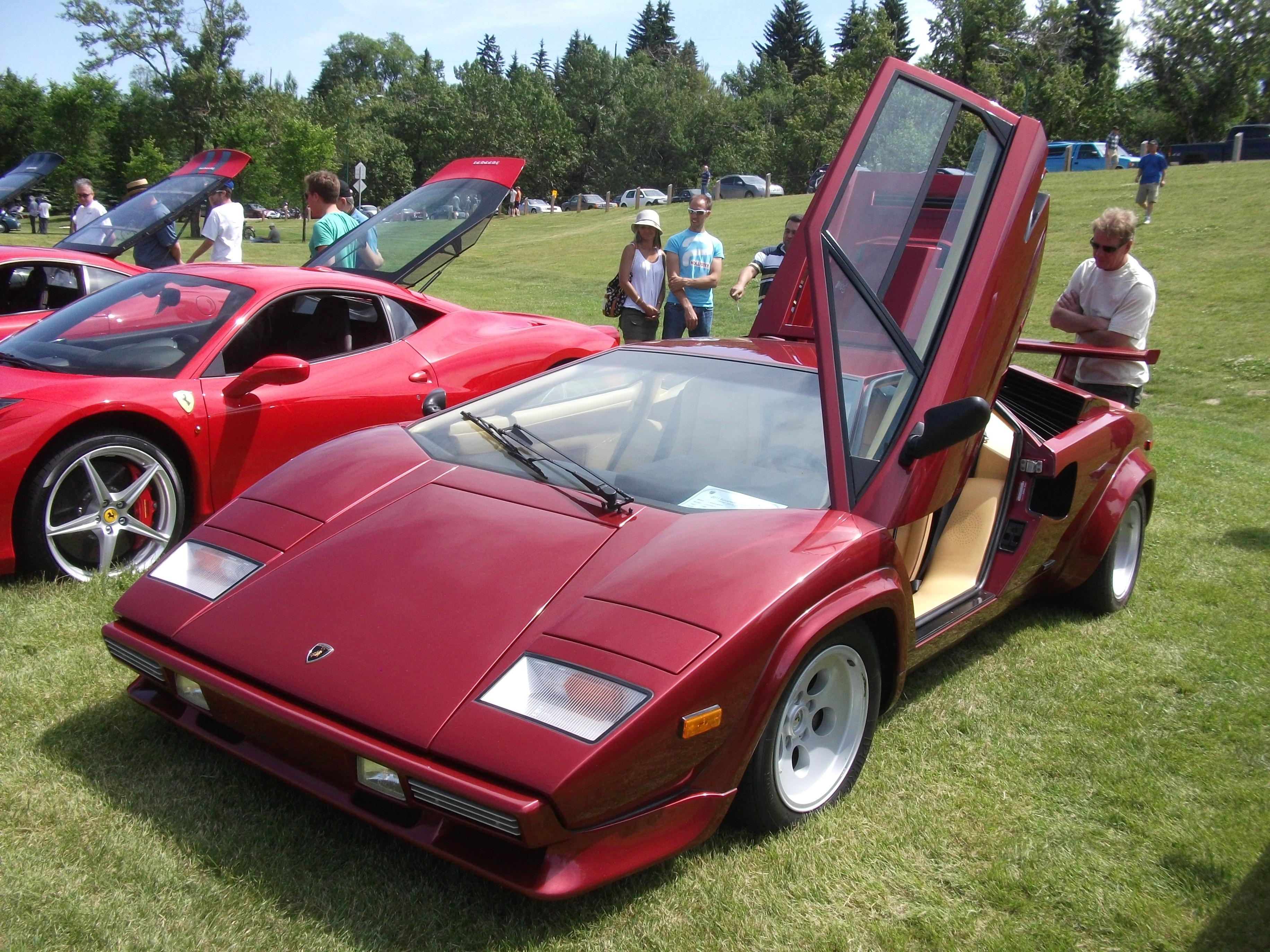 1988_Lamborghini_Countach_LP_5000_QV_%285975519603%29 Extraordinary Lamborghini Countach 5000 Quattrovalvole Specs Cars Trend