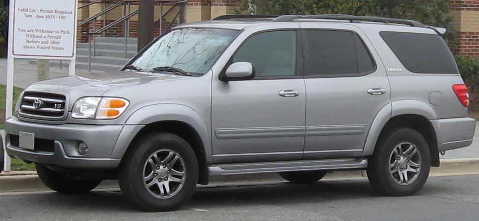 Toyota Sequoia Dimensions >> File:2001-2004 Toyota Sequoia Limited.jpg - Wikimedia Commons