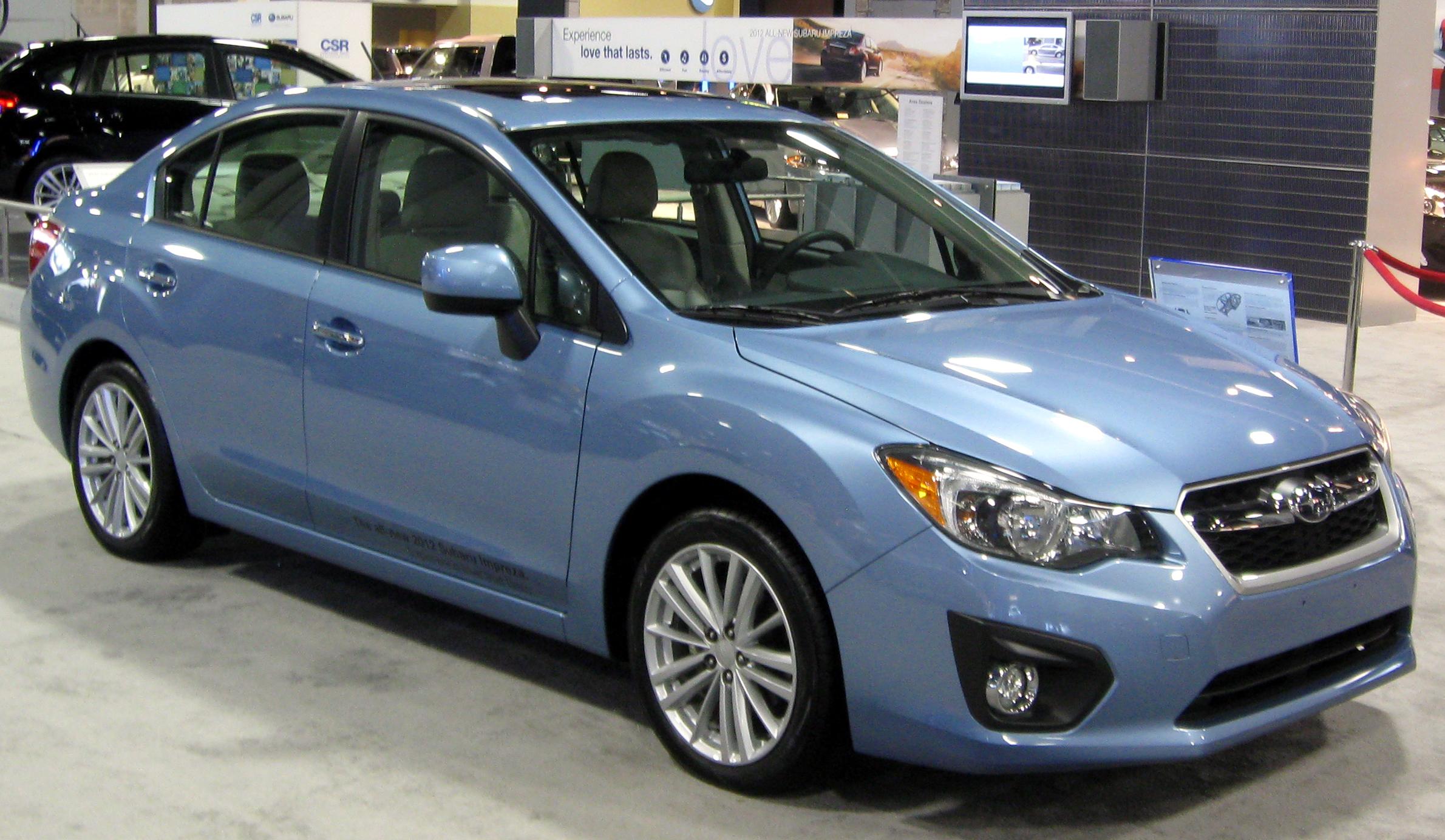 File 2012 Subaru Impreza Sedan 2012 Dc Front Jpg
