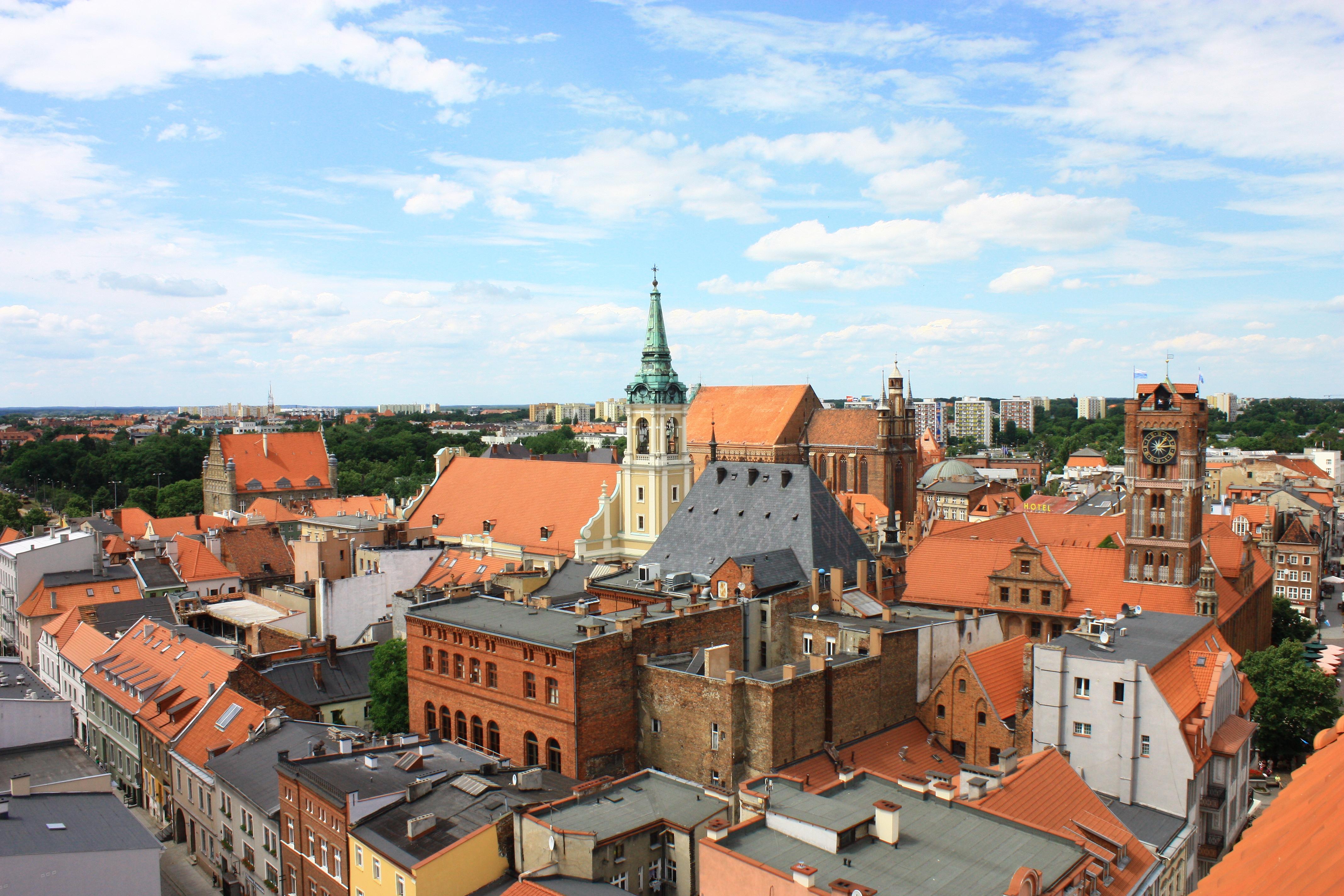 602945 Toruń dzielnica Starego Miasta z kat. J. Chrzciciela 03.JPG