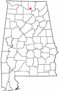 Location of RSA in Alabama