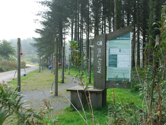Activity Trail at Wistlandpound - geograph.org.uk - 1501713