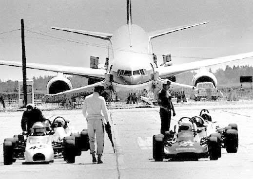 Air Canada Flight 143 after emergency landing