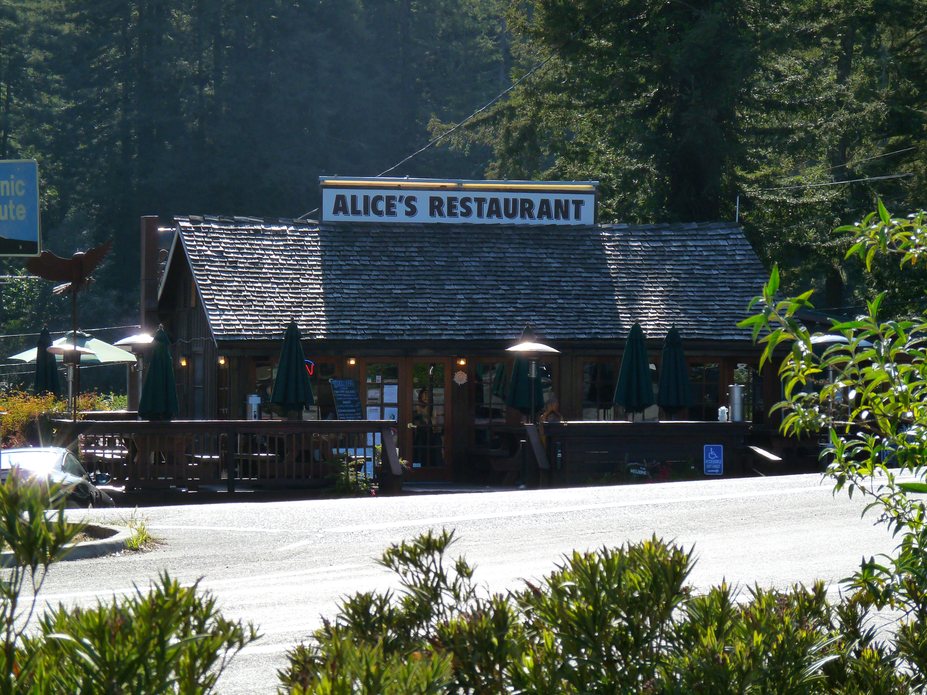 A Picture Of Alice In Alice S Restaurant