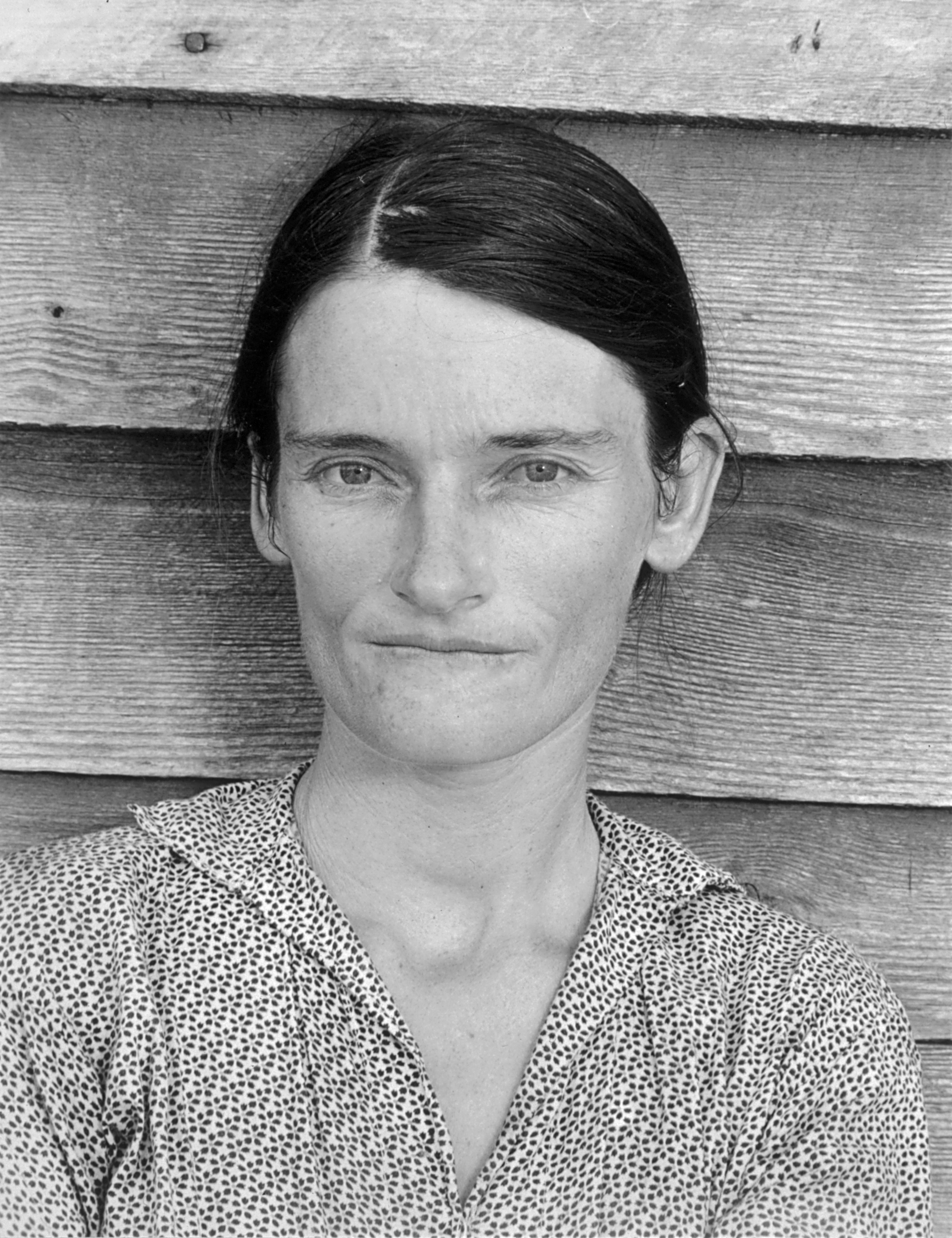 Alabama hale county akron - Evans S Photo Of Allie Mae Burroughs A Symbol Of The Great Depression