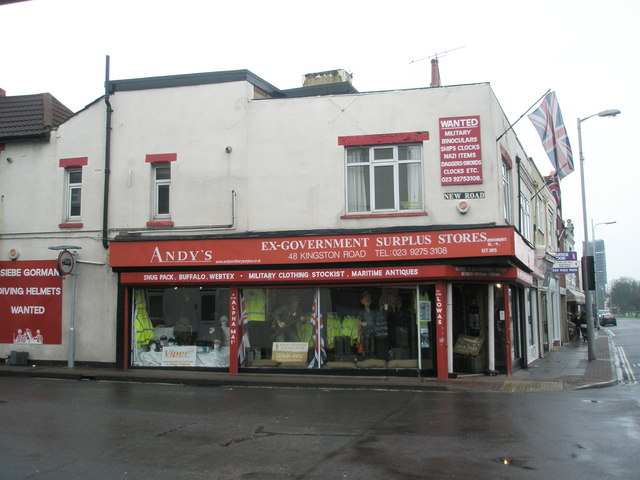 File:Andy's Ex-Government Surplus Store on Kingston Road