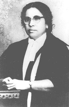 first woman high court judgeAnna Chandy