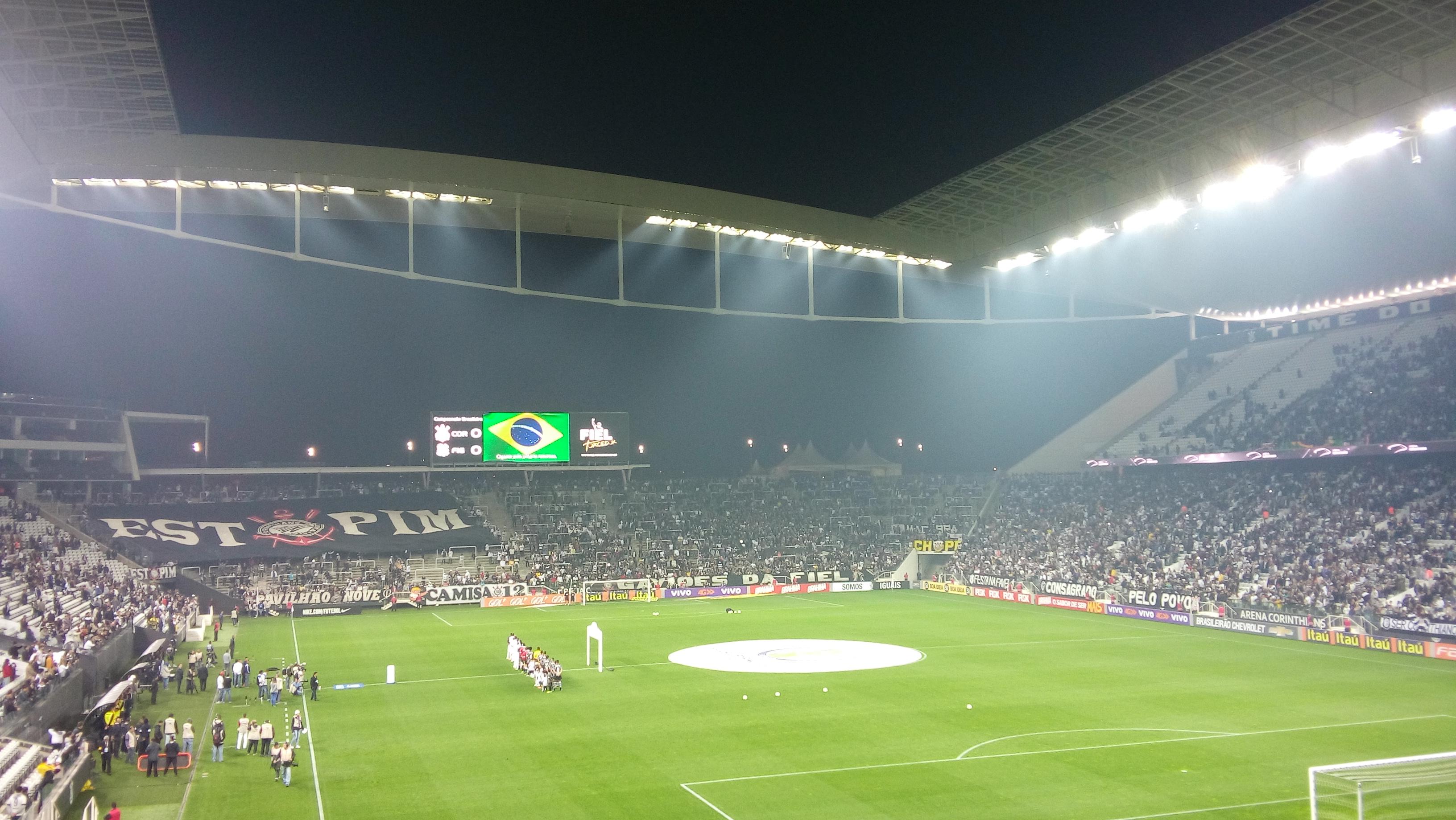 a7bea21357f5d Arena Corinthians possui o melhor sistema de iluminação do mundo