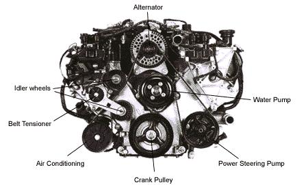 Pulley Help Ford 302 also 42p65 Replace Fan Belt Ford Ka Reg also 1997 as well PK31 V additionally 1986 Jeep Cj7 Chasis 1 Of 2. on ford serpentine belt diagram