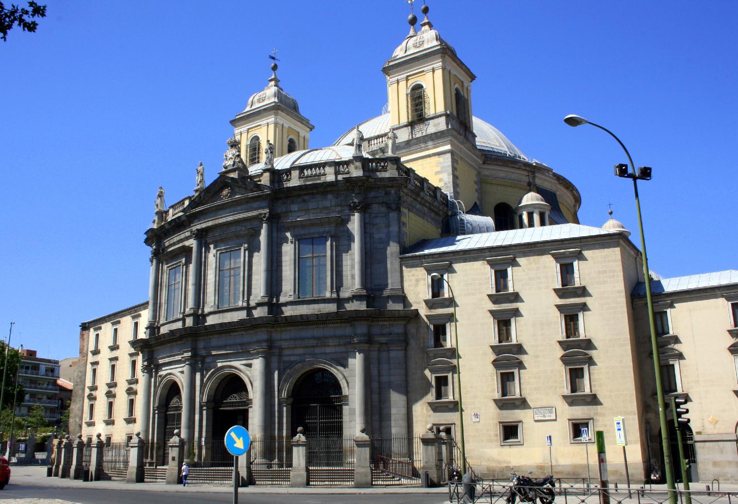 Basilica of San Francisco el Grande, Madrid - Wikipedia Y Intersection