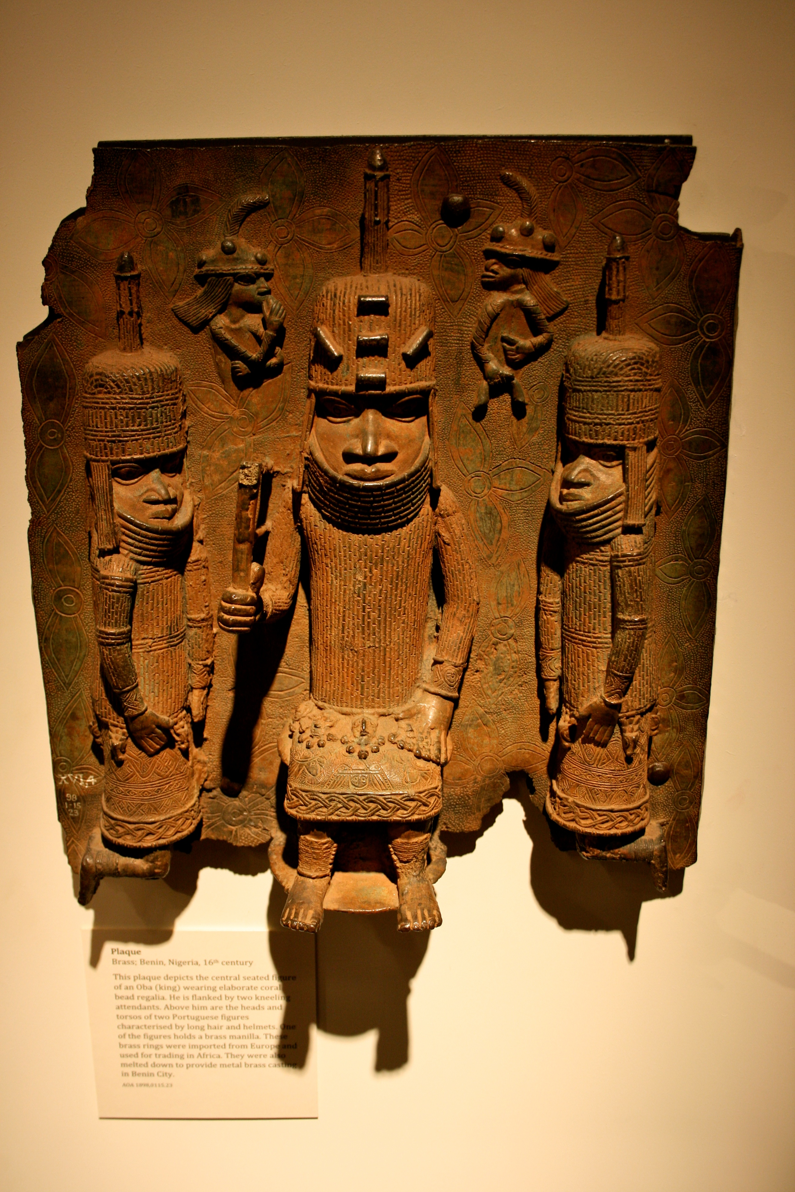 benin bronzes The benin bronze, like other artefacts, is still very much a part of the politics of contemporary africa and, of course, nigeria in particular.