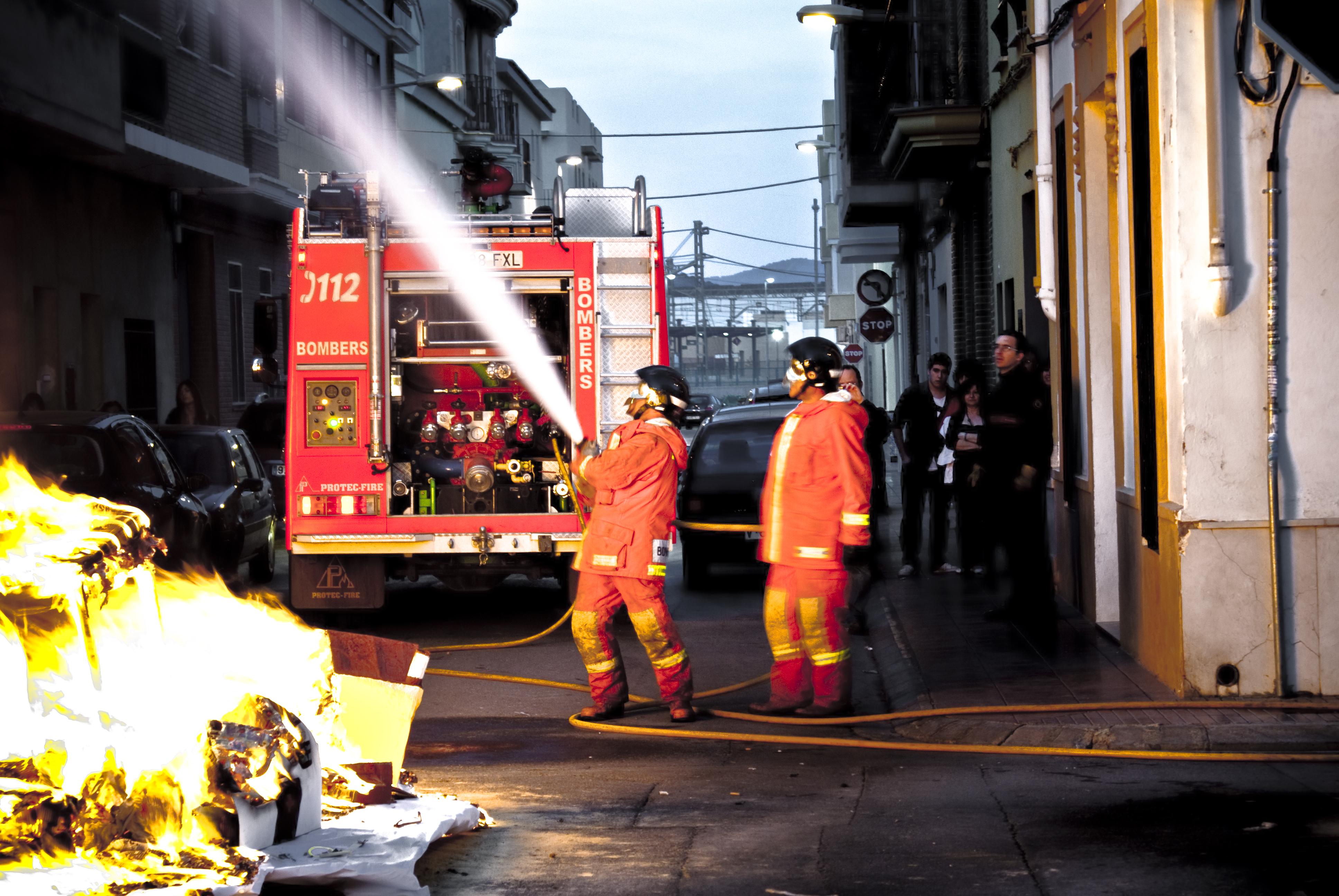 foto bombero cl: