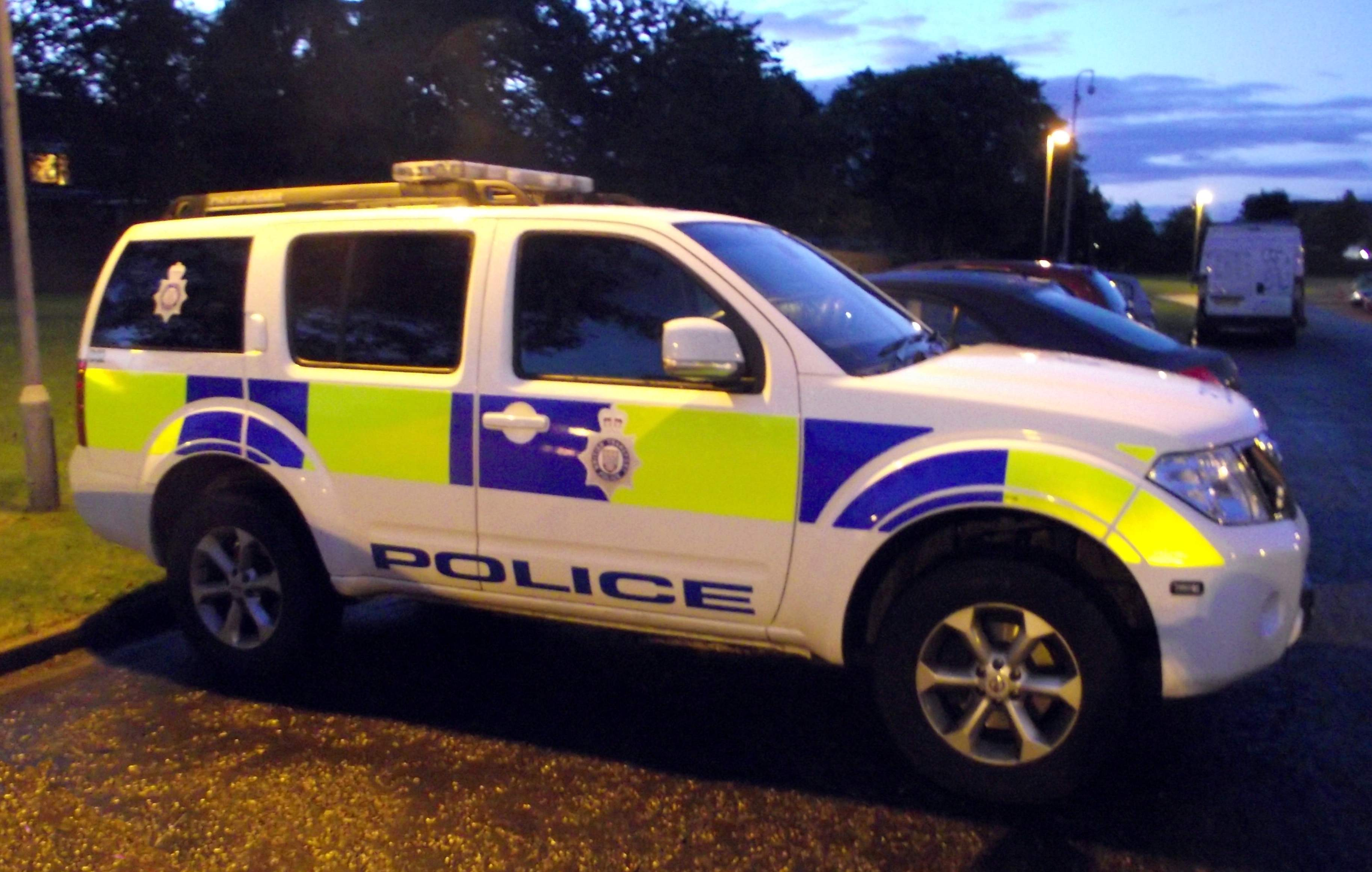 File British Transport Police Nissan 4x4 Based At