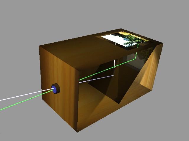 File Camera obscura box