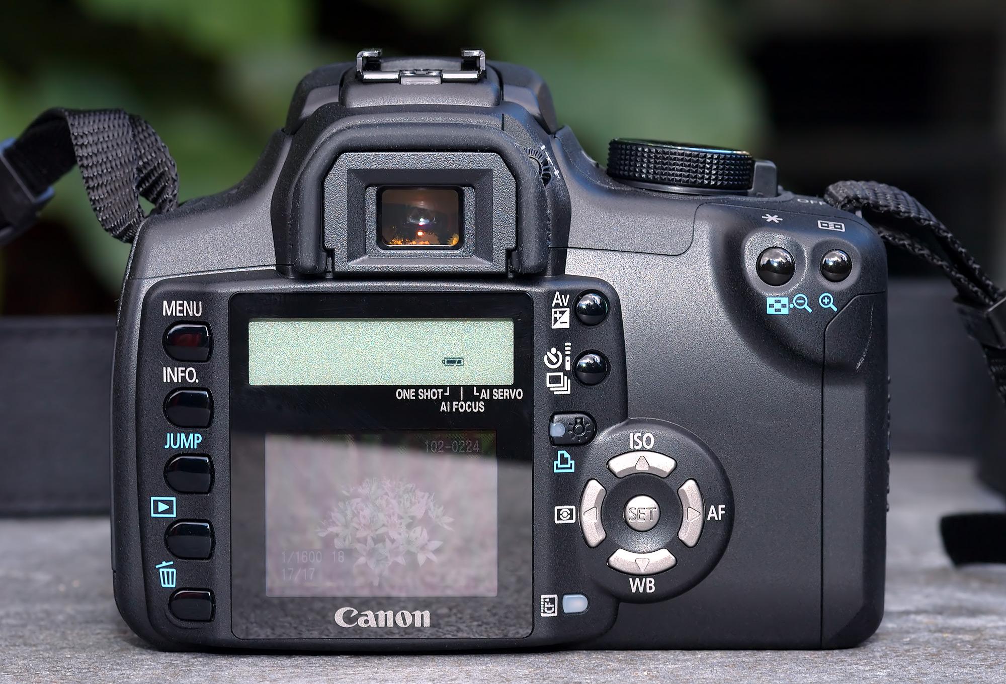 Camera Canon Eos 350d Dslr Camera filecanon eos 350d back aka jpg wikimedia commons jpg
