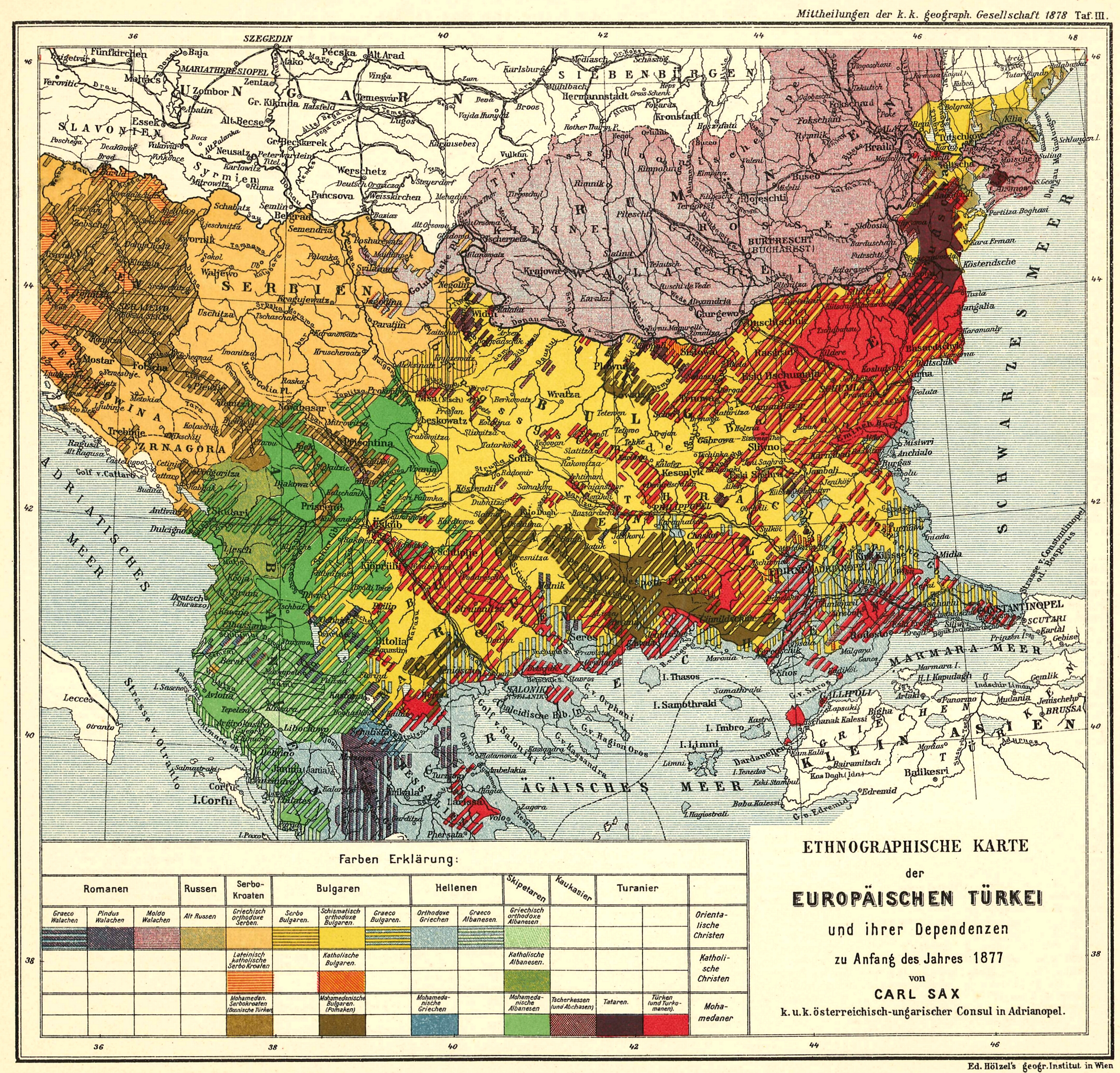 physical map of austria with 1877 Ethnic Map Of The Ottoman Balkans 3100x2968 on Austria additionally Romania Road Maps together with Belarus Road Maps further Slovenia Maps together with Nordamerika Physische Karte.
