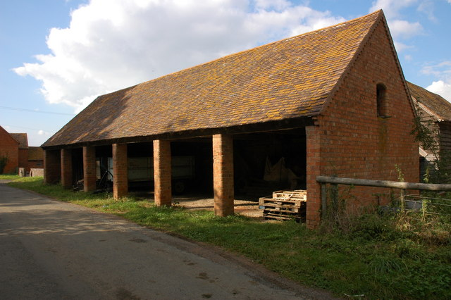 File Cart Shed At Churchill Farm Churchill Geograph Org