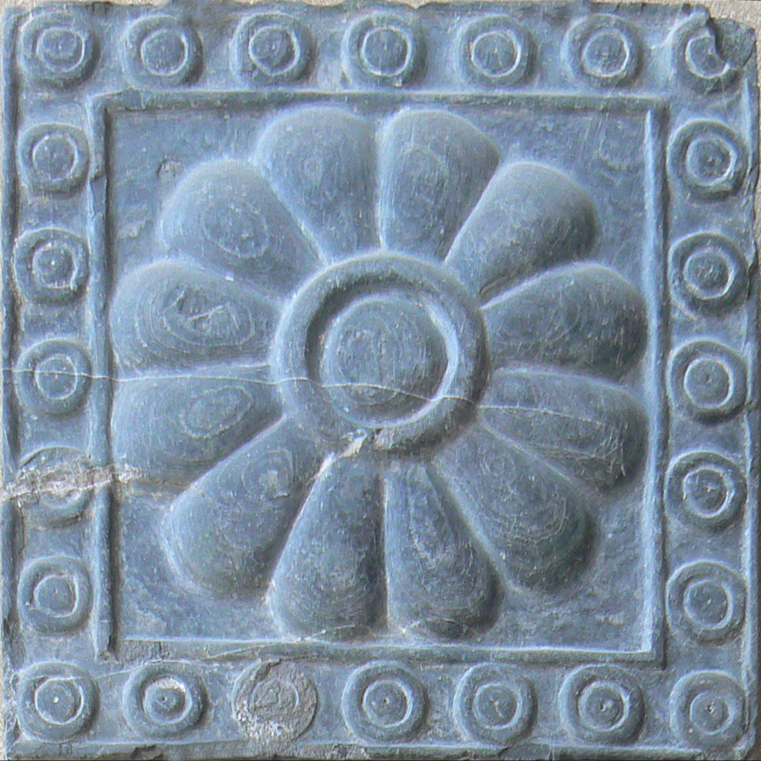 File:Carved stone flower.jpg - Wikimedia Commons