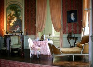 Chambre du château de Condé utilisée par Olympe Mancini (Madame de Soissons)