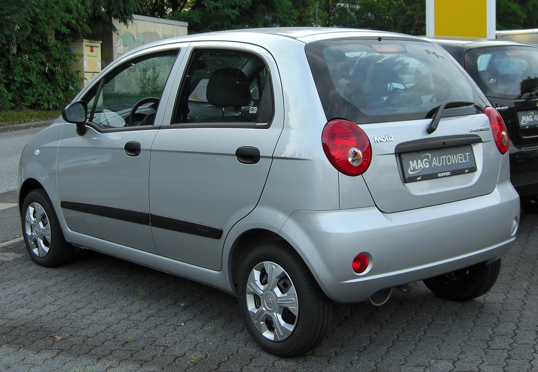 file chevrolet matiz m200 rear wikimedia commons. Black Bedroom Furniture Sets. Home Design Ideas