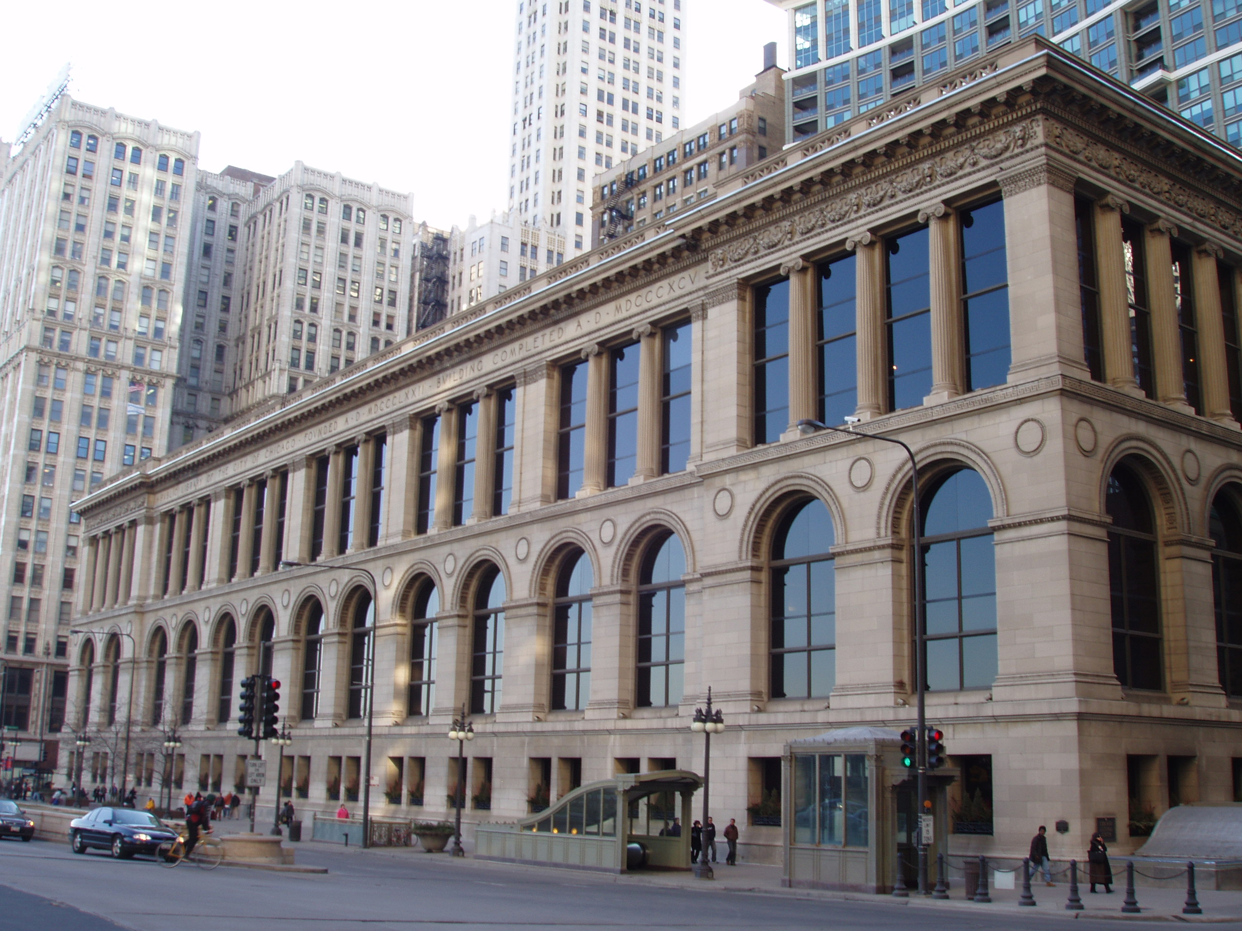 Download this Description Chicago Cultural Center picture