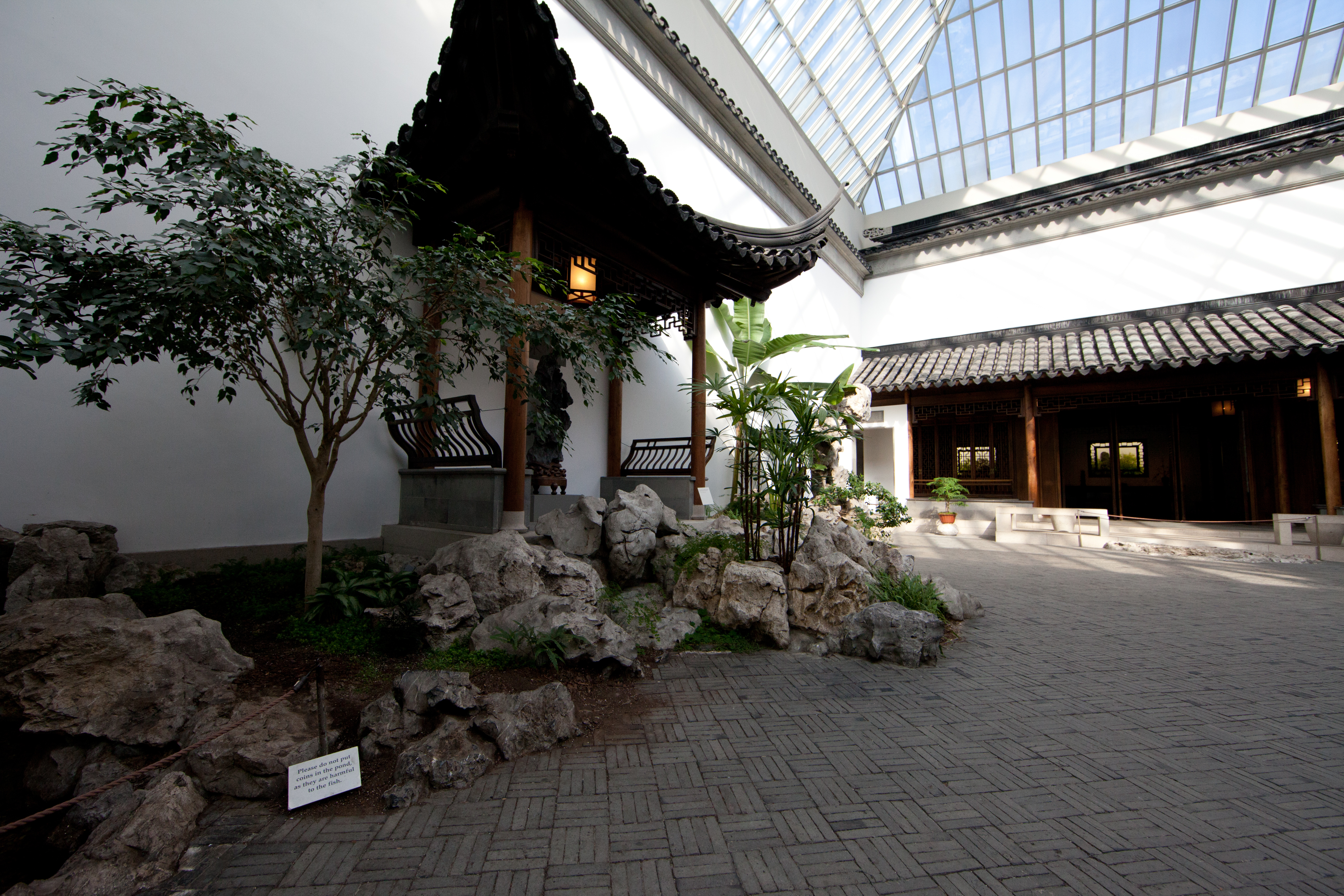 File Chinese Courtyard In The Style Of The Ming Dynasty