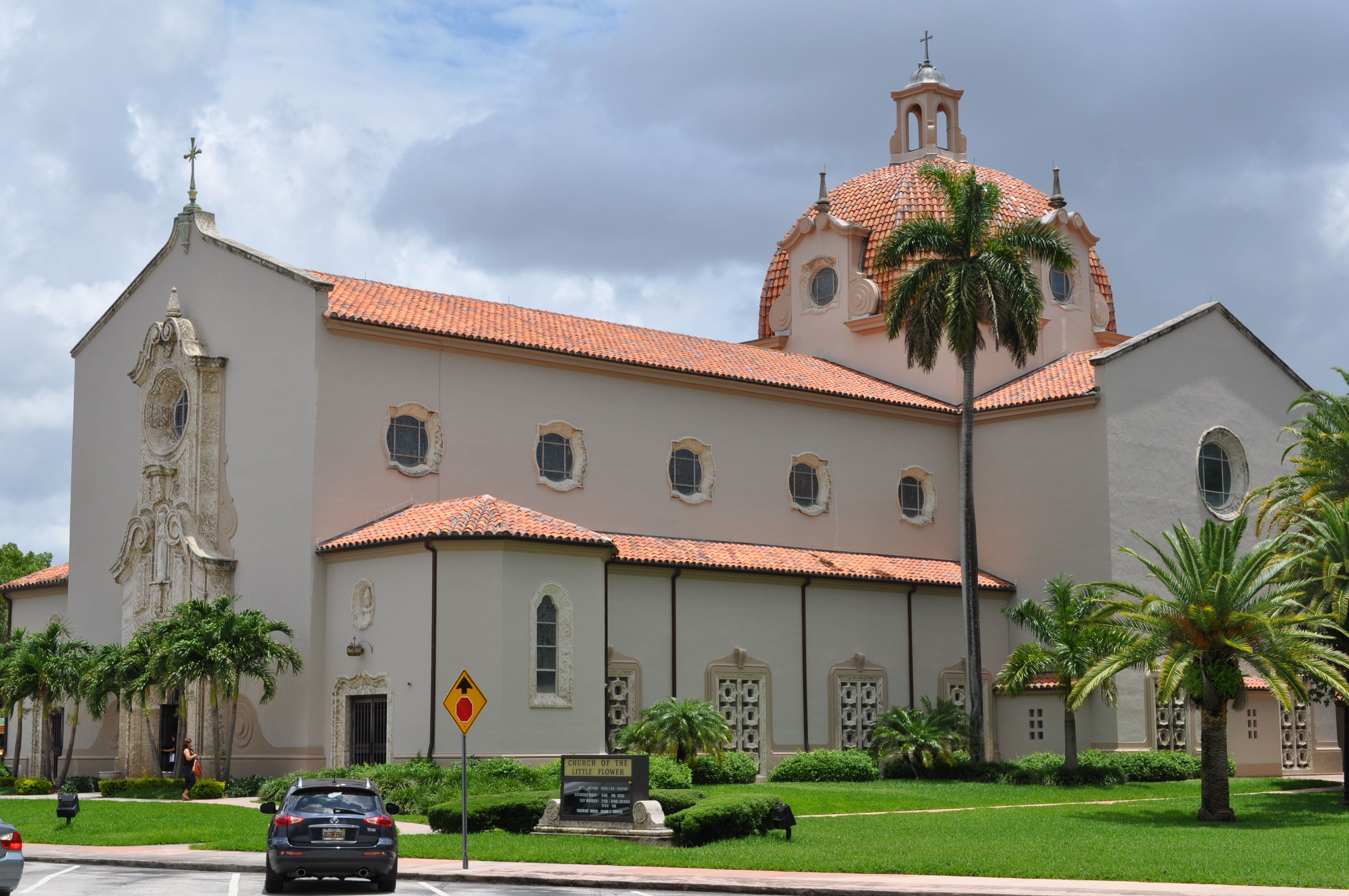 Church of the Little Flower Coral Gables Florida Wikiwand