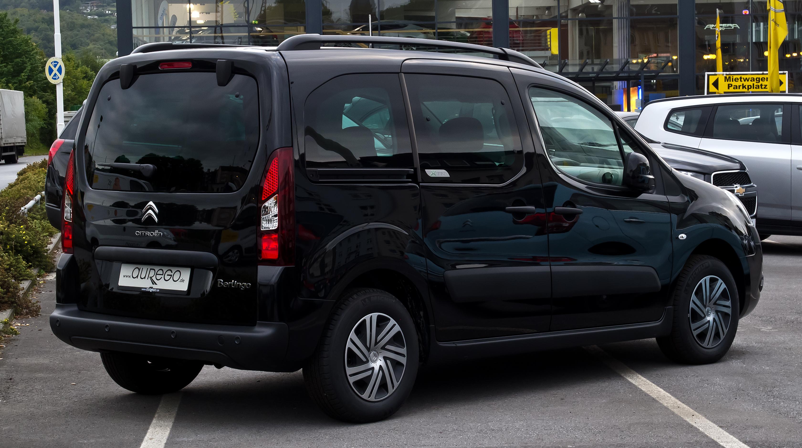 File:Citroën Berlingo Multispace XTR (II, Facelift) – Heckansicht, 5.