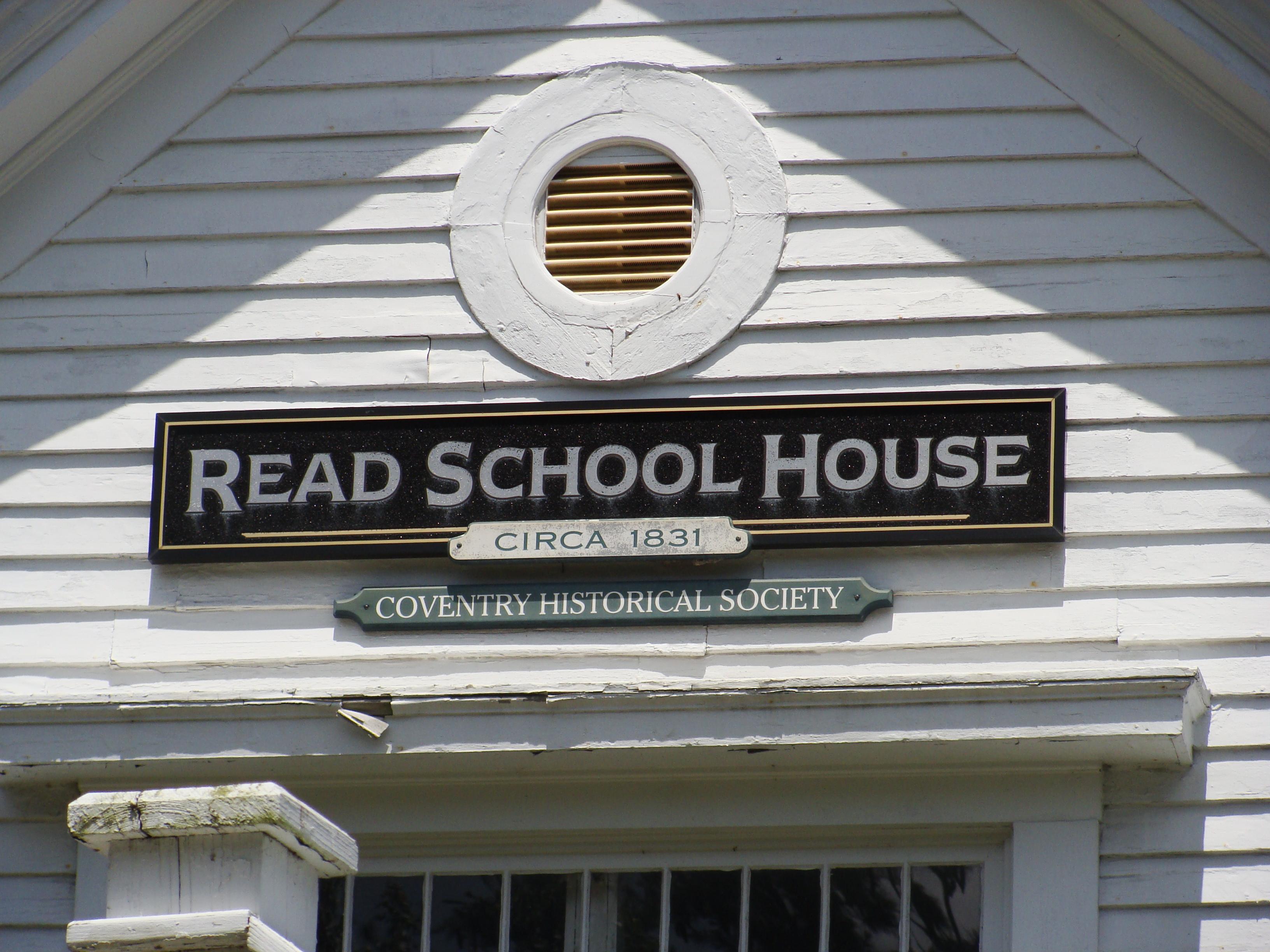 File:Closeup of Read School sign.JPG - Wikimedia Commons