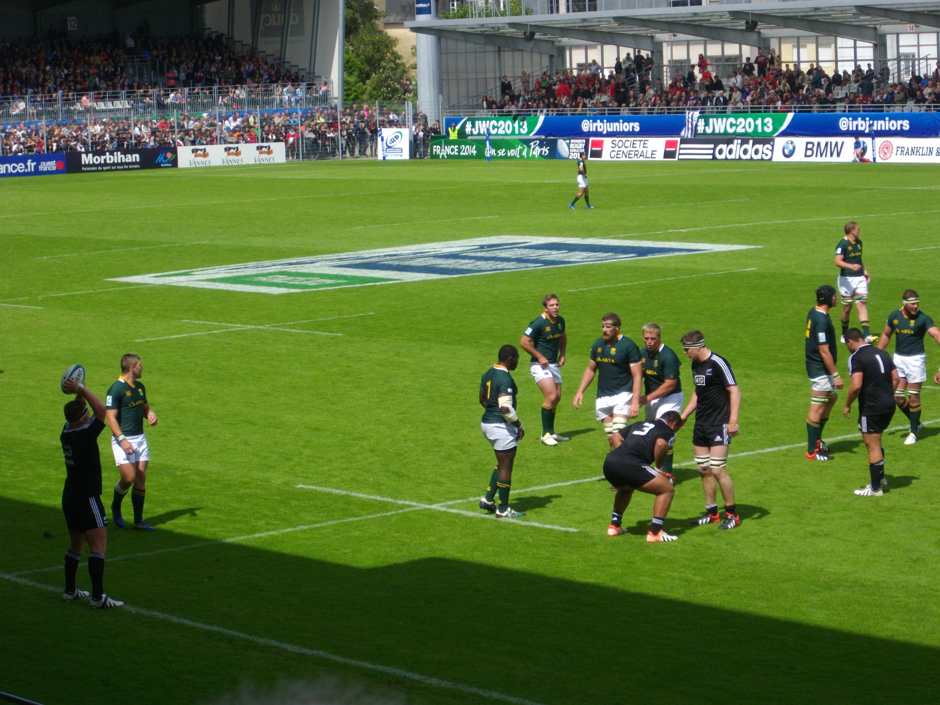 File coupe du monde junior de rugby xv 2013 3e place 6 jpg wikimedia commons - Place de rugby coupe du monde ...