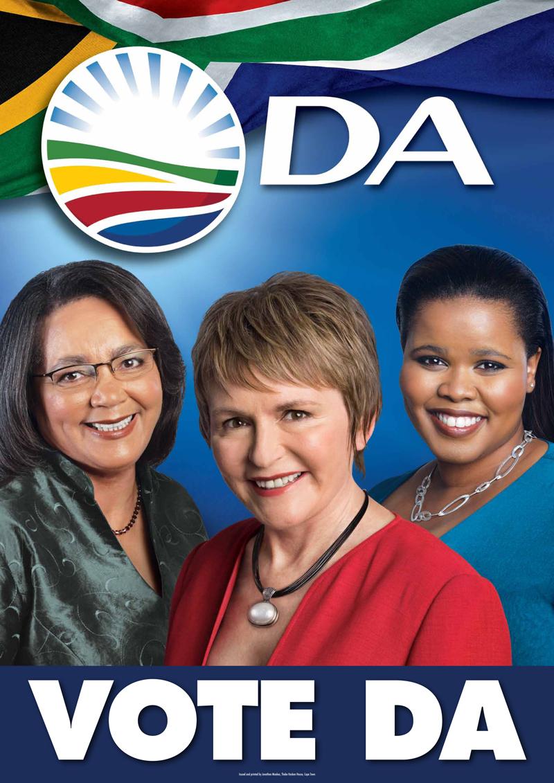 Democratic Alliance poster, 2011