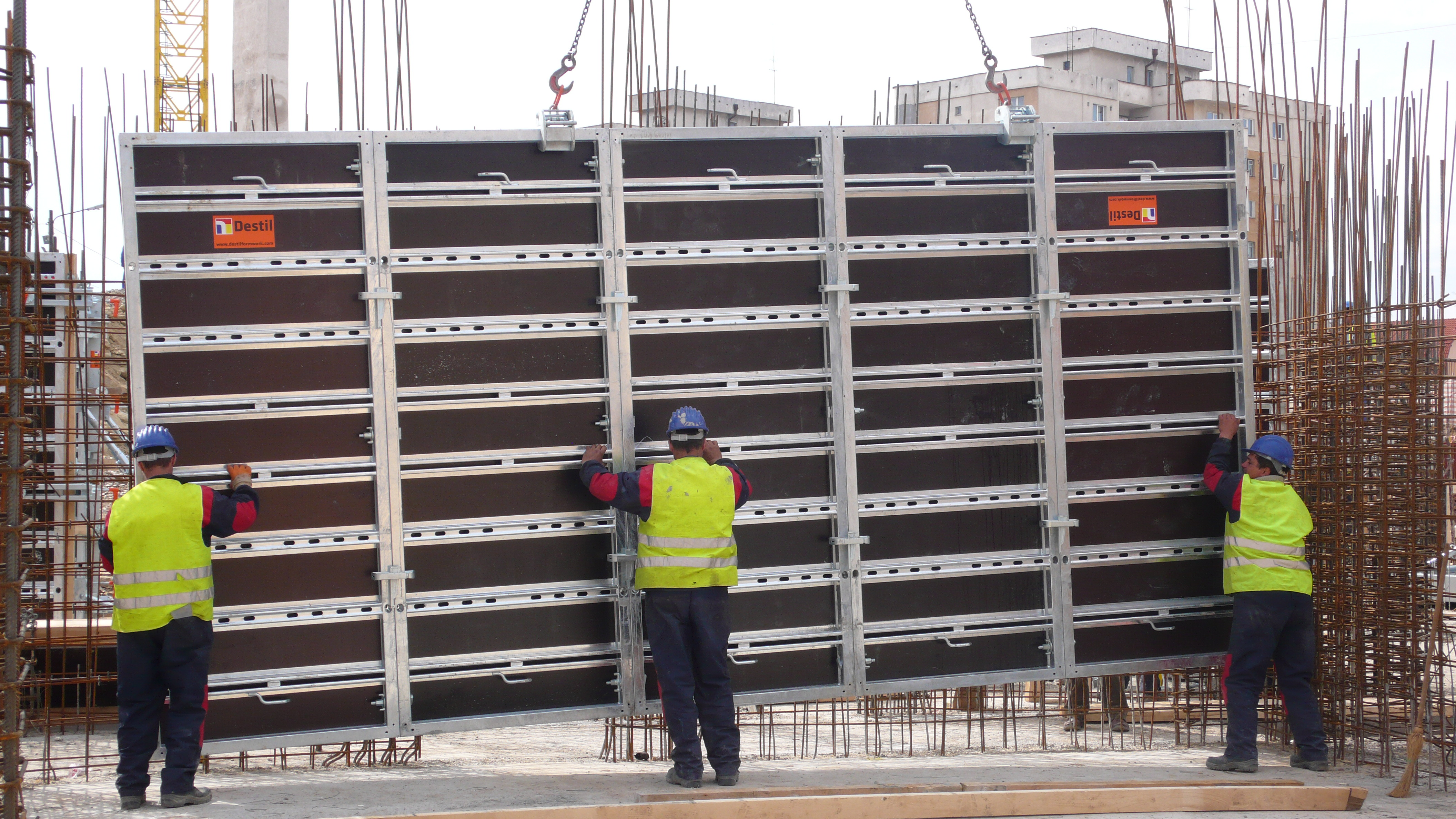 Vertical Shuttering Plywood For Wall : Formwork wikidwelling