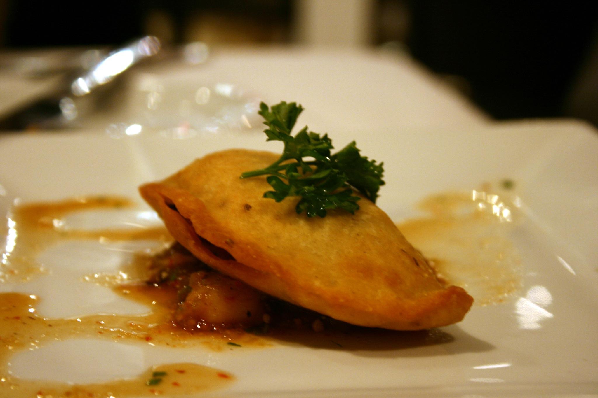 Peach Gujiya - An Indian Empanada Or Deep Fried Pie Recipes ...