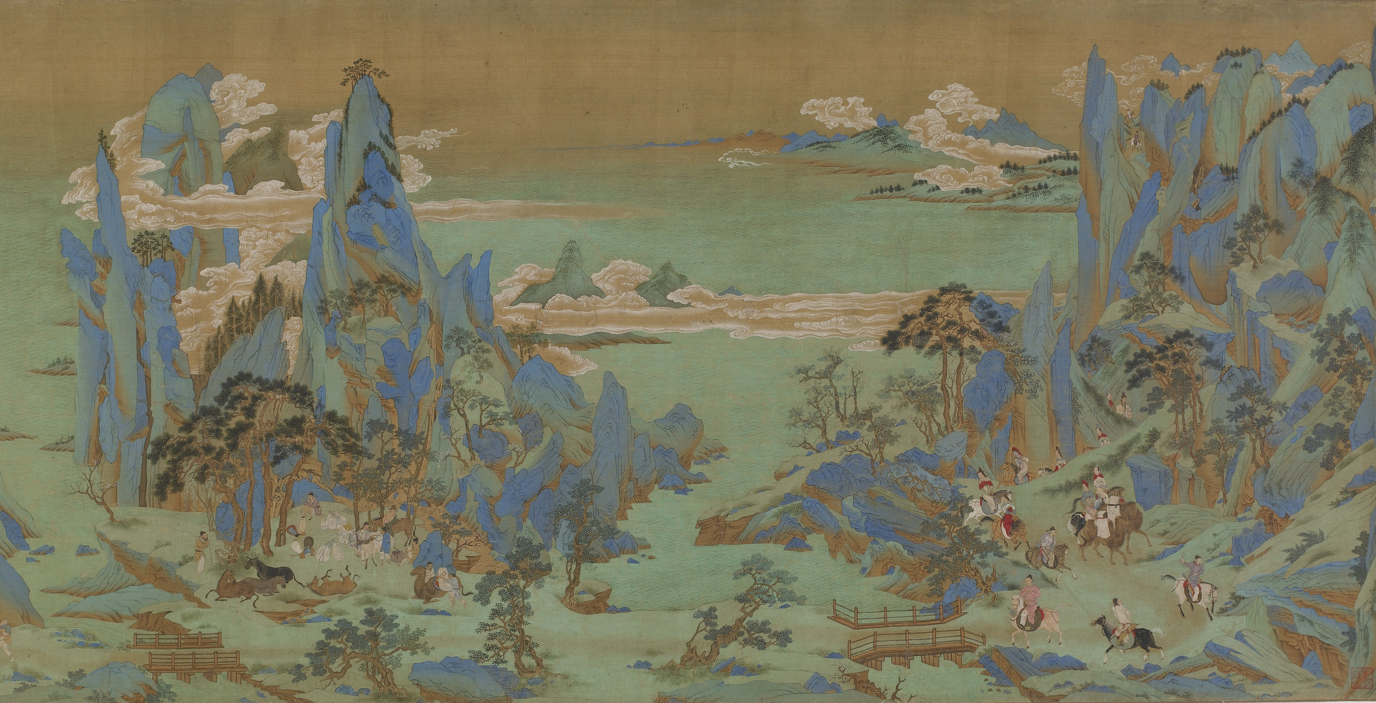 How were the social classes organized during the ming dynasty?