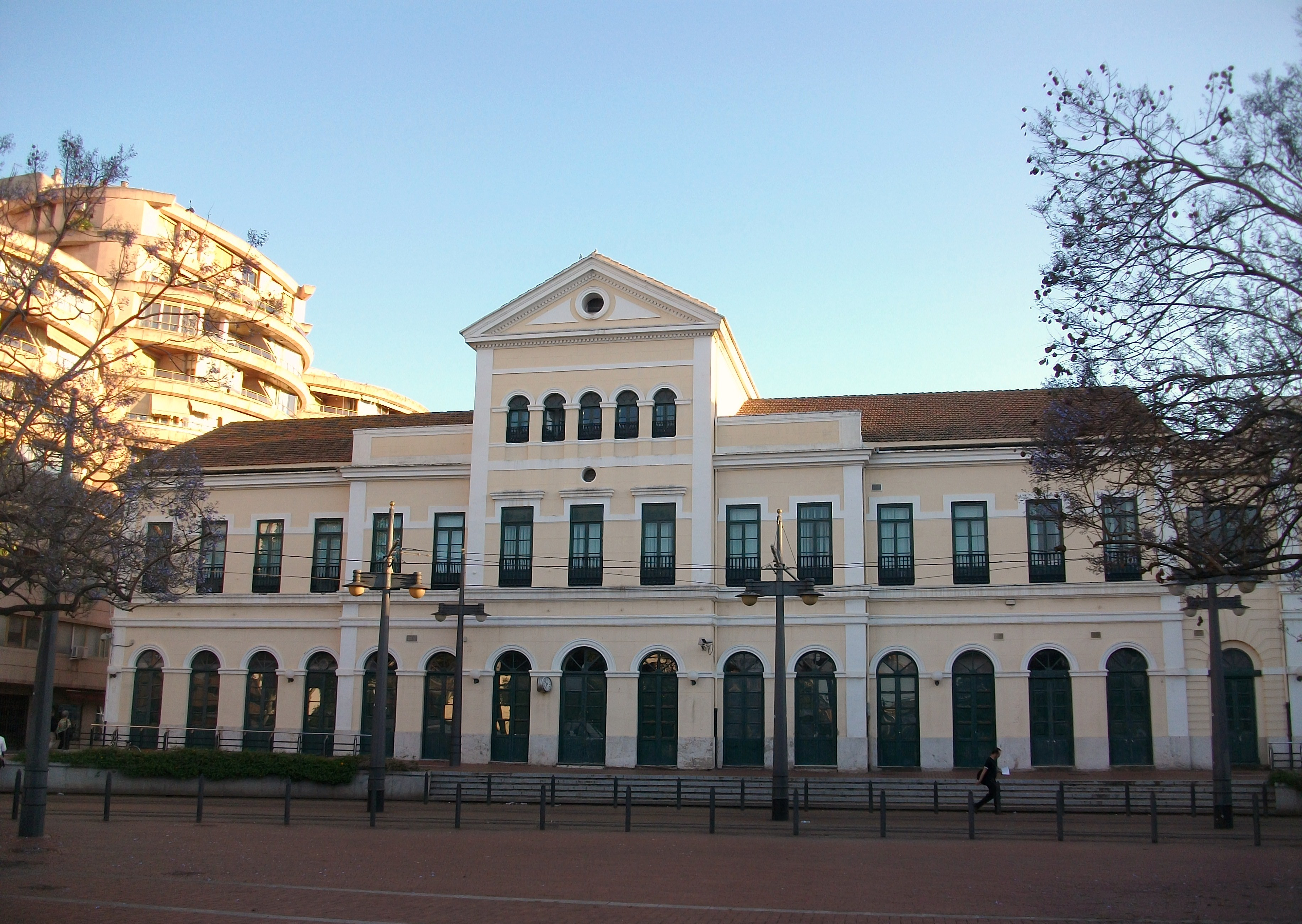 Estación de Pont de Fusta (València)